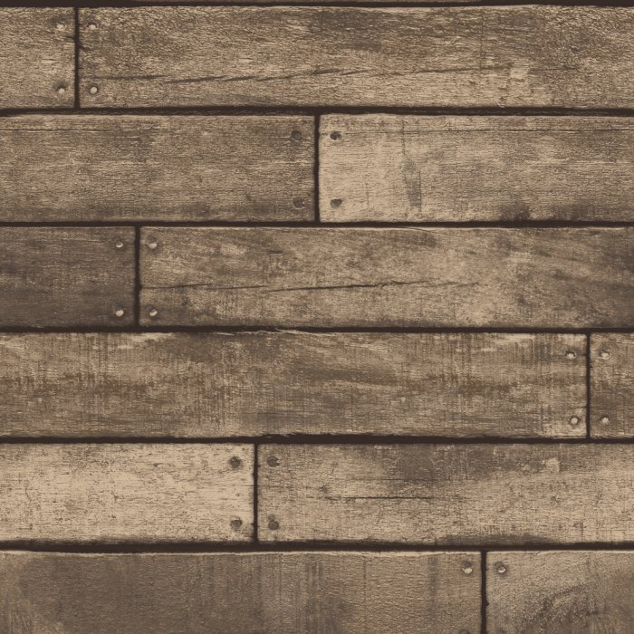 Wooden Plank – Metallic Brown