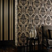 Regal Damask – Black