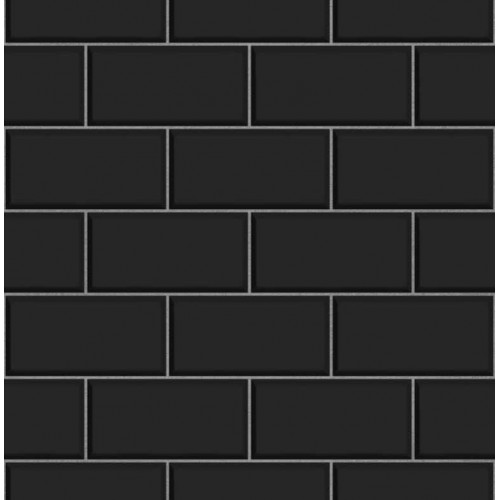 Subway Tile Black Wallsorts