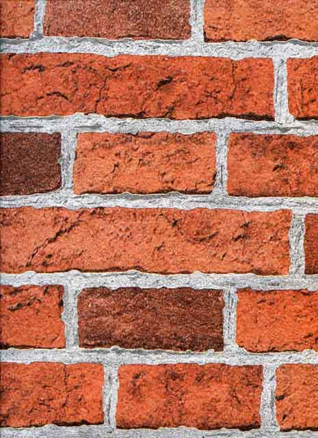 Brick Effect Red Wallsorts