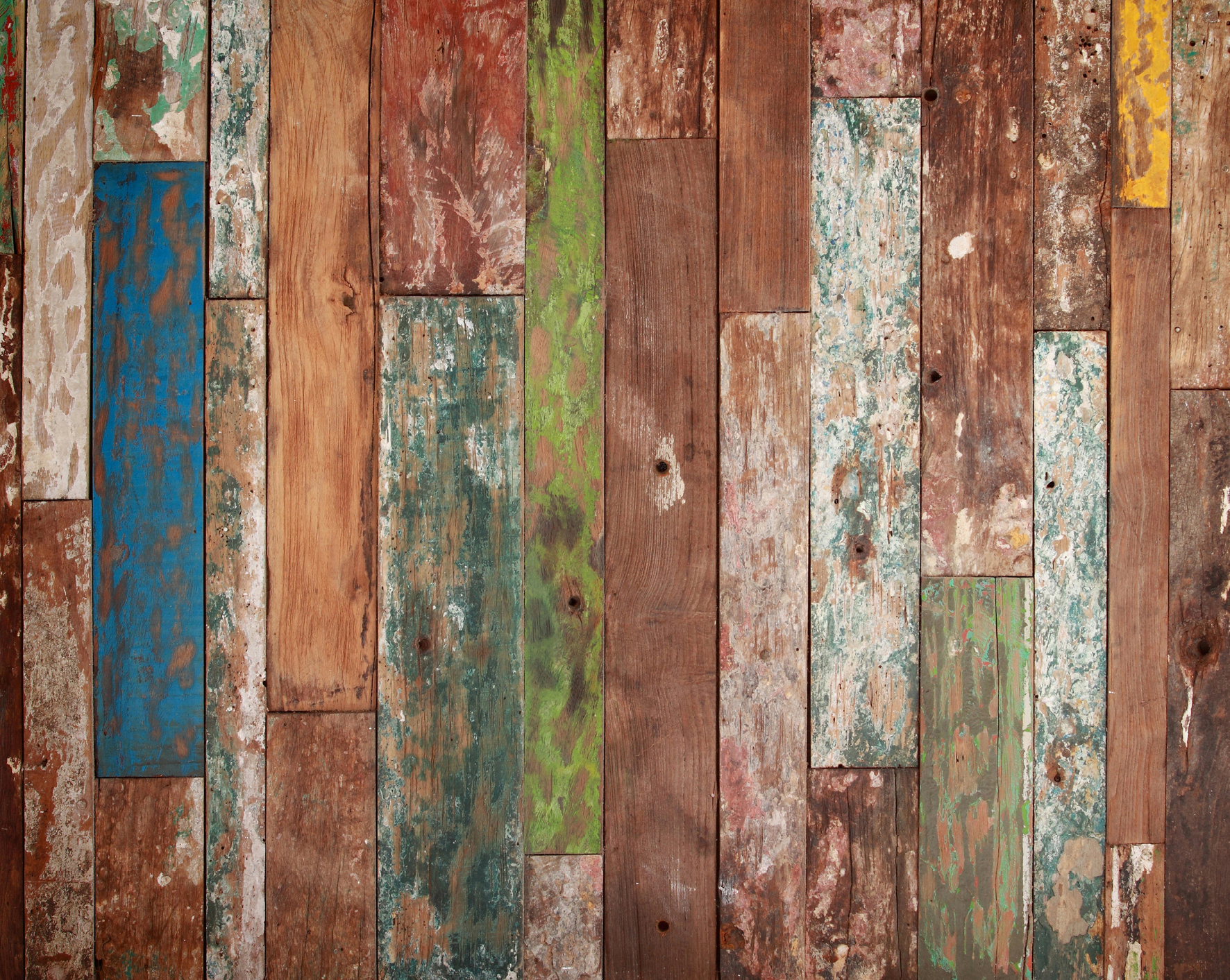 wall mural weathered wood wallsorts