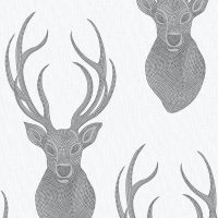 Black and Silver Stags
